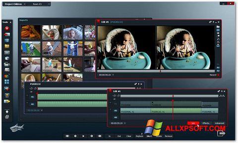 Captura de pantalla Lightworks para Windows XP