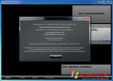 Captura de pantalla FastPictureViewer para Windows XP