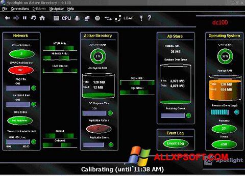 Captura de pantalla Spotlight para Windows XP