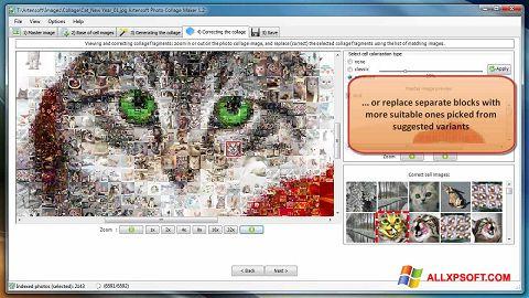 Captura de pantalla Photo Collage Maker para Windows XP