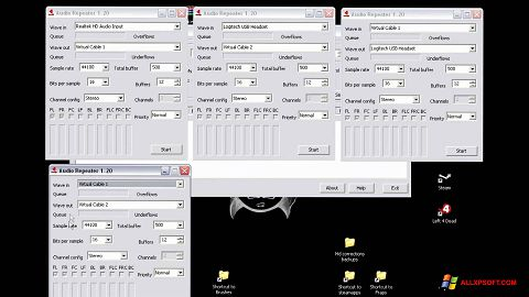 Captura de pantalla Virtual Audio Cable para Windows XP
