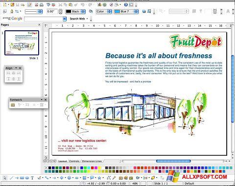Captura de pantalla Apache OpenOffice para Windows XP