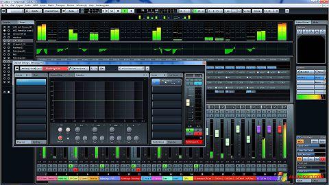 Captura de pantalla Cubase para Windows XP