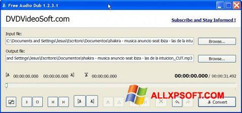 Captura de pantalla Free Audio Dub para Windows XP