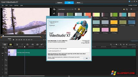Captura de pantalla Corel VideoStudio para Windows XP