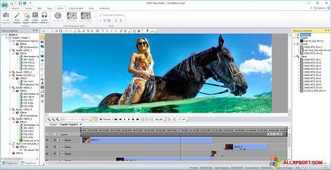 Captura de pantalla Free Video Editor para Windows XP