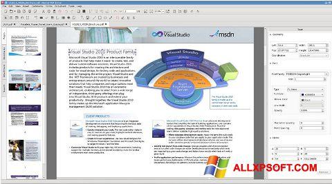 Captura de pantalla Master PDF Editor para Windows XP