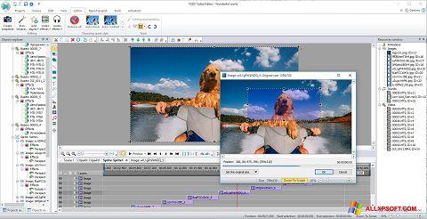 Captura de pantalla VSDC Free Video Editor para Windows XP