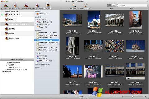 Captura de pantalla iPhoto para Windows XP