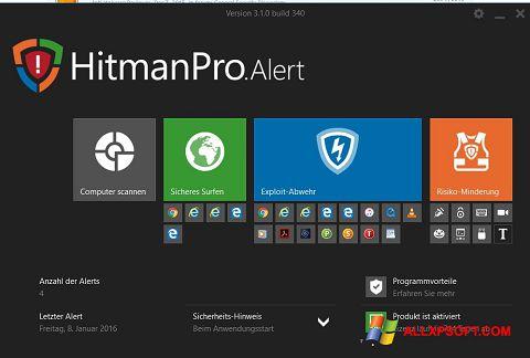 Captura de pantalla HitmanPro para Windows XP