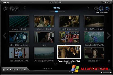 Captura de pantalla KMPlayer para Windows XP