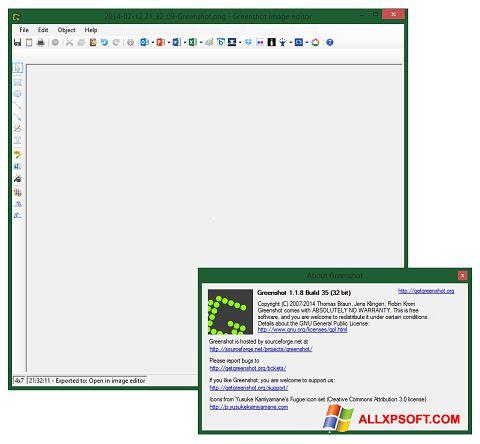 Captura de pantalla Greenshot para Windows XP