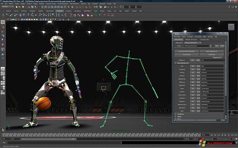 Captura de pantalla Autodesk Maya para Windows XP
