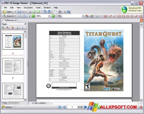 Captura de pantalla PDF-XChange Viewer para Windows XP