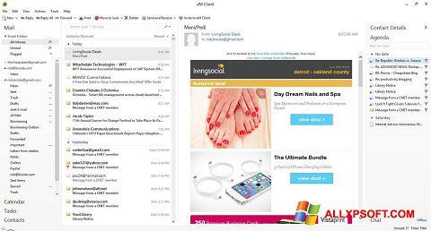 Captura de pantalla eM Client para Windows XP