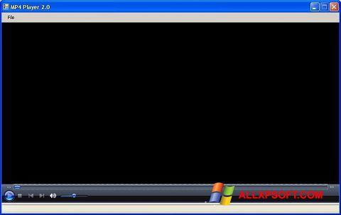 Captura de pantalla MP4 Player para Windows XP