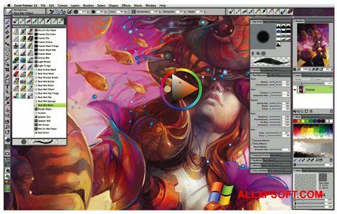Captura de pantalla Corel Painter para Windows XP
