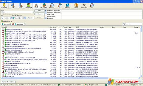 Captura de pantalla eMule para Windows XP