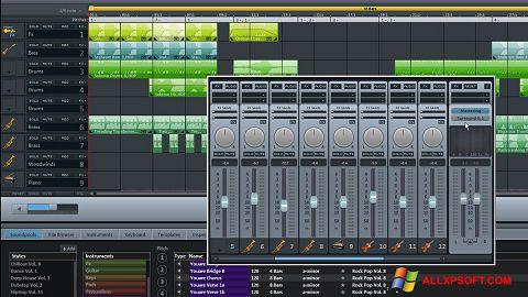 Captura de pantalla MAGIX Music Maker para Windows XP