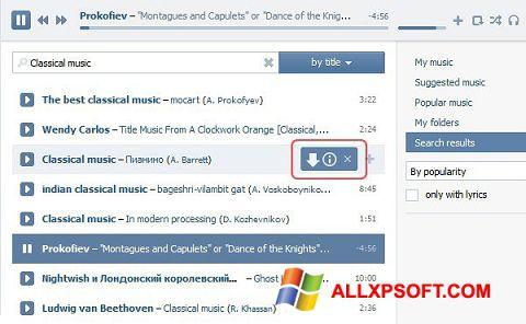 Captura de pantalla SaveFrom.net para Windows XP