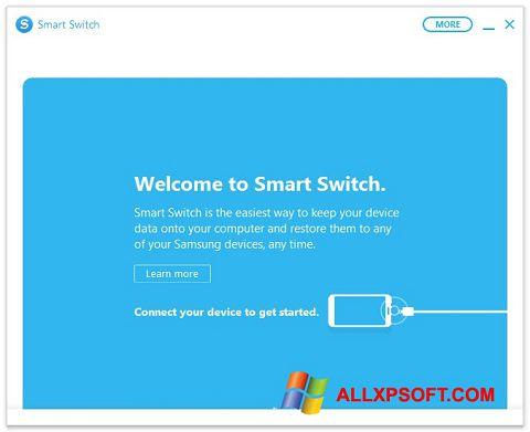 Captura de pantalla Samsung Smart Switch para Windows XP