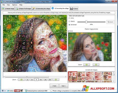 Captura de pantalla Photo Collage para Windows XP