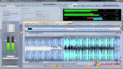 Captura de pantalla WaveLab para Windows XP