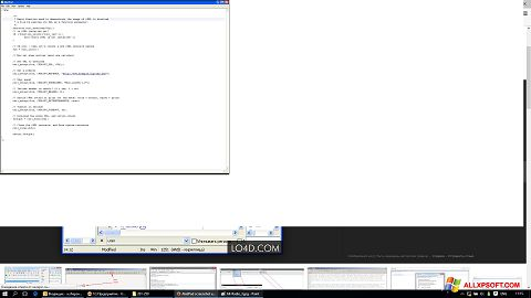 Captura de pantalla AkelPad para Windows XP