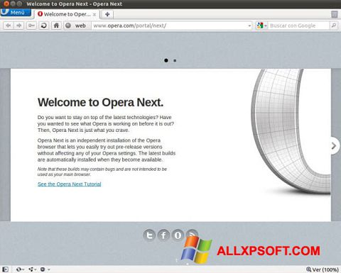 descargar opera ultima version para windows xp